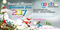 El  22 de diciembre APNABI celebrará su tradicional fiesta de navidad,  en el JAIPARK de Txurdinaga.