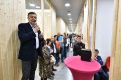 Presentación de las nuevas instalaciones de APNABI a las familias