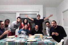 Los residentes del Hogar Fruiz celebran el segundo aniversario de su vida en común