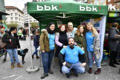 Éxito de público del Rastrillo Infantil Solidario de Barakaldo, a beneficio de APNABI