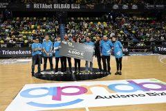 APNABI, protagonista en el encuentro entre RETAbet Bilbao Basket y PalenciaBasket