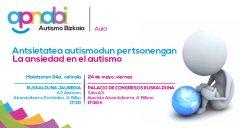 24 de mayo, Aula APNABI dedicada a la ansiedad en el autismo