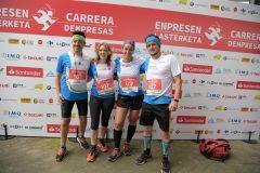 Un año más APNABI participa en la Carrera de Empresas Bilbao