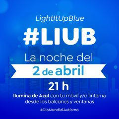 'Light It Up Blue' o 'Ilumínalo de azul', jueves 2 de abril de 2020 a las 21:00