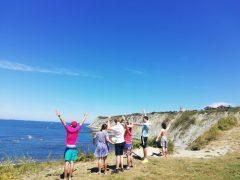 Los grupos de tiempo libre de APNABI disfrutan del verano en el entorno cercano