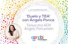 """5 de mayo, charla virtual: """"Duelo y TEA"""""""