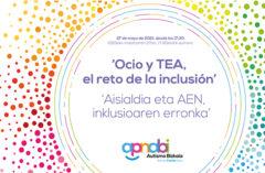 """27 de mayo, charla virtual: """"Ocio y TEA: el reto de la inclusión"""""""