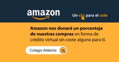 Un año más, el colegio Aldamiz se suma a la campaña 'Un clic para el cole' de Amazon